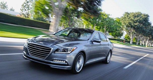 2015 Hyundai Genesis: This