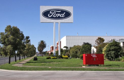 The Ford stamping plant in
