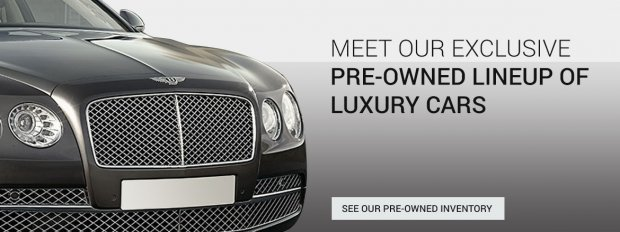 Your luxury car deserves the