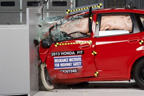 Honda Fit Crash-Test