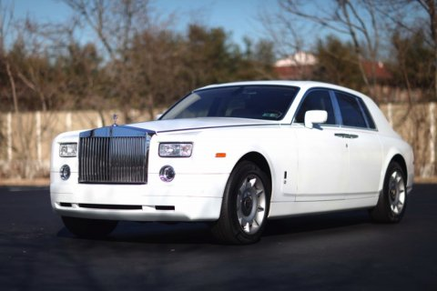 Rolls Royce Phantom Rental