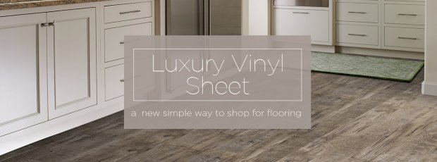 Luxury vinyl sheet