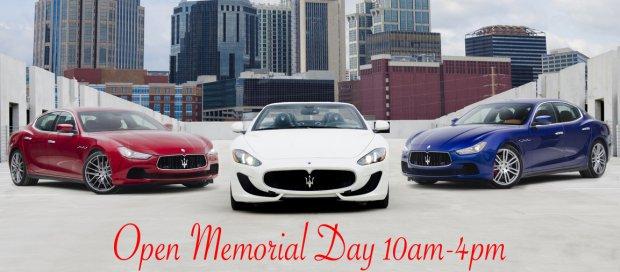 Maserati, Rolls-Royce, Bentley