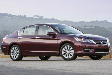 The Honda Accord is among 13