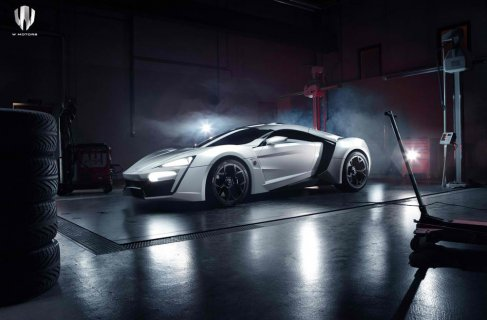 The Lykan Hypersport is