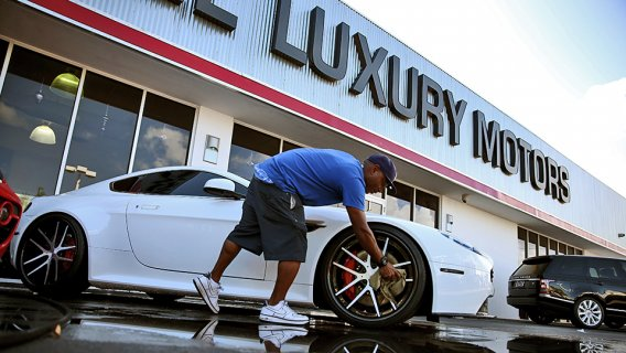 Powers luxury car sales