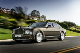 Bentley will launch its new Mulsanne Speed model at the Paris motor show