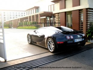 Bugatti Veyron Grandsport in Hyderabad