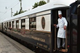 Just An Old-Fashioned Train? Well, Step Inside And You'll Feel Transported Into A Downton Abbey Set...