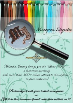 Monisha Jaising Luxe Wraps