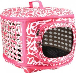 Petmate Luxury Curvations Carrier-Pink