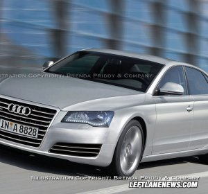 Audi A8 luxury cars