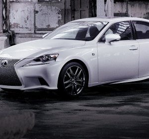 Lexus luxury sports car