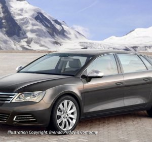 Luxury car by Volkswagen
