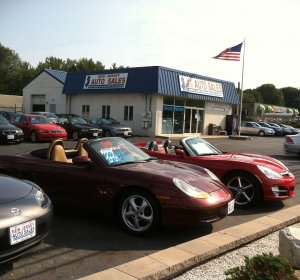 Luxury used cars dealership in NJ