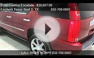 2008 Cadillac Escalade Luxury AWD SUV - for sale in houston,