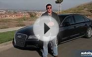 2013 Audi A8 L Test Drive & Luxury Car Video Review