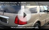 2005 Lincoln Navigator Luxury 2WD - for sale in Houston, TX