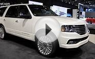 2015 Lincoln Navigator - new full-size luxury SUV