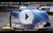 1978 Chevrolet Corvette PACE CAR - for sale in FT LAUDERDALE