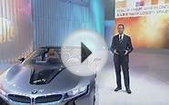 BMW i8 Spyder Electric Luxury Car Auto China 2012 Launch News