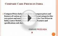 Cars Prices In India