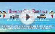 Cheap & Discount Hawaii Rental Cars - Maui, Kauai