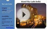 List of 5 Star Luxury Hotels Delhi