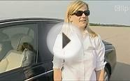 Maybach luxury car drift female F1 driver