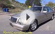 Movie Cars TV Film High End Luxury Car Mercedes Benz