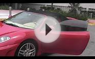 Red Ferrari F430 Spider Miami Luxury Rental Car from