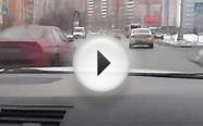 Russian Driver ShowOff Fails in a Luxury Car