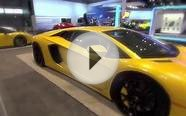 Ultra luxury and high performance cars at the 2014 Chicago