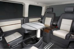 VW Caravelle Business leather interior